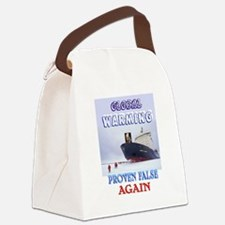GLOBAL WHINING Canvas Lunch Bag