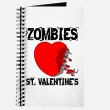 Zombies Love St. Valentines Journal