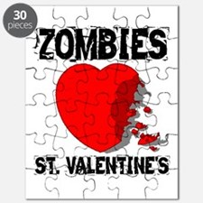 Zombies Love St. Valentines Puzzle