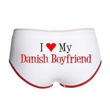 Love My Danish Boyfriend Women's Boy Brief