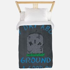 Any Day Above Ground Twin Duvet