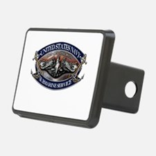 USN Sub Dolphins Iron Men Hitch Cover