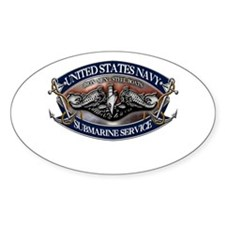 USN Sub Dolphins Iron Men Decal