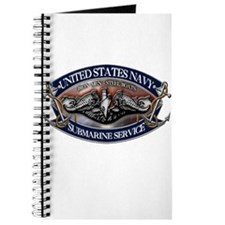 USN Sub Dolphins Iron Men Journal