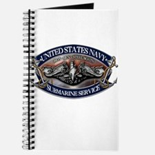 USN Sub Dolphins Iron Men Journal