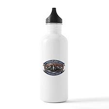 USN Sub Dolphins Iron Men Water Bottle