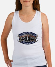 USN Sub Dolphins Iron Men Tank Top