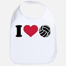I love Volleyball Bib