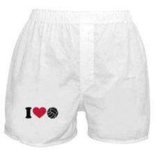 I love Volleyball Boxer Shorts
