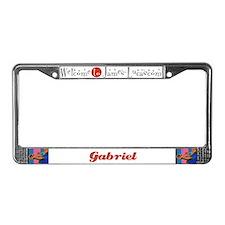 Gabriel License Plate Frame