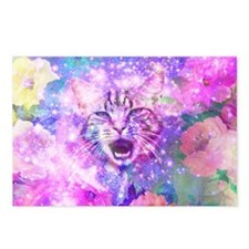 Girly Kitten Cat Romantic Postcards (Package of 8)