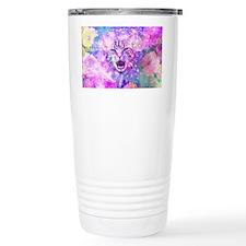 Girly Kitten Cat Romant Travel Coffee Mug