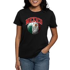Flag of Mexico Soccer Ball Tee