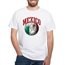Flag of Mexico Soccer Ball Shirt