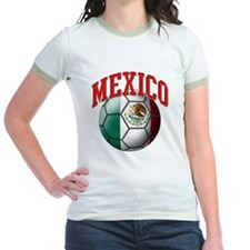 Flag of Mexico Soccer Ball T
