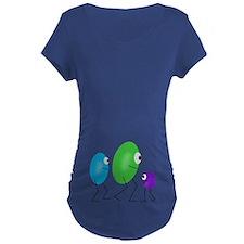 Jelly Beans Maternity T-Shirt