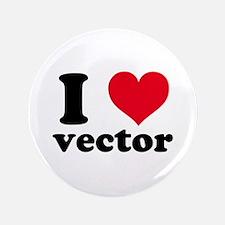I Heart Vector 3.5&Quot; Button