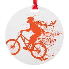 Biker ink splash Ornament