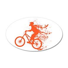 Biker ink splash Wall Decal