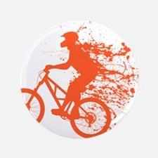 """Biker ink splash 3.5"""" Button"""