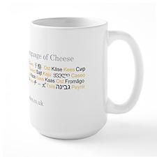 International Language of Cheese Mug