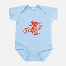 Biker ink splash Infant Bodysuit