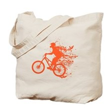 Biker ink splash Tote Bag