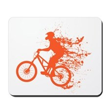 Biker ink splash Mousepad