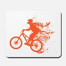 Biker ink splash Mousepad