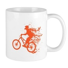 Biker ink splash Mug