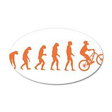 Evolution Biking Wall Decal