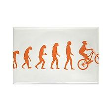 Evolution Biking Rectangle Magnet