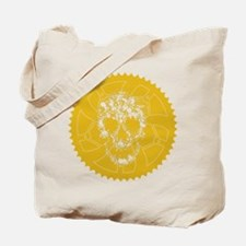 Chainring skull Tote Bag