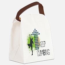 Keep climbing Canvas Lunch Bag