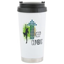 Keep climbing Travel Coffee Mug
