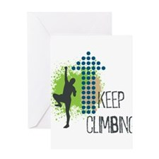 Keep climbing Greeting Card