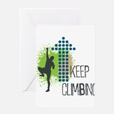 Keep climbing Greeting Card