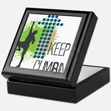 Keep climbing Keepsake Box