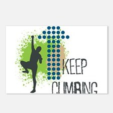 Keep climbing Postcards (Package of 8)