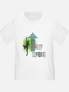 Keep climbing T