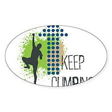 Keep climbing Decal