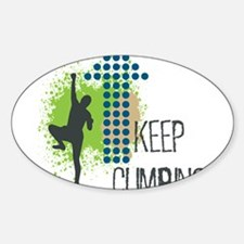 Keep climbing Decal