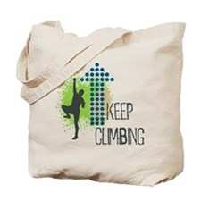 Keep climbing Tote Bag