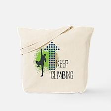 Keep climbing Tote Bag