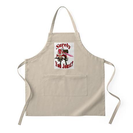 Jousting BBQ Apron