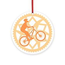 Biker chainring Ornament (Round)