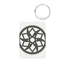 Bike chainring Keychains