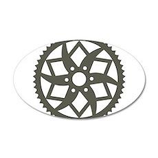 Bike chainring Wall Sticker