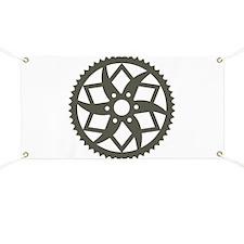 Bike chainring Banner