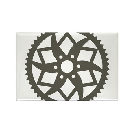 Bike chainring Rectangle Magnet (100 pack)